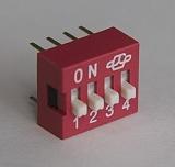 DIP переключатель прямой (SWD-1, SWD-2)