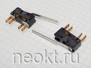 DM1-1 АНГЛИЯ (микропереключатель-изогнутая пластина 35 мм) 2,5A/250V