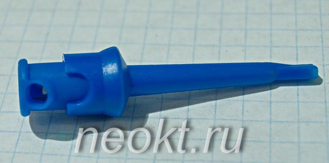 микросхем (клипса) синий