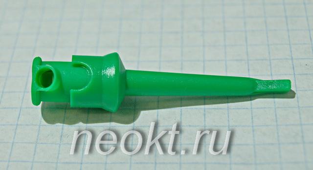 микросхем (клипса) зелёный