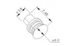 Резиновые заглушки к автомобильным разъемам MFD0022-4