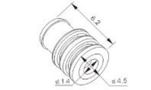 Резиновые заглушки к автомобильным разъемам MFD017-6