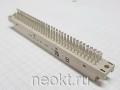 D33-96F1 для пайки отдельных проводов (DIN41612, тип C, 09032966823)