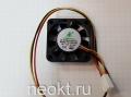 Вентилятор 40х40х10-12VDC 3PIN  втулка (SLEEVE)