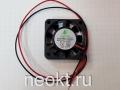 Вентилятор 40х40х10-5VDC втулка (SLEEVE)