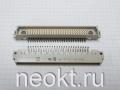 DIN 41612 Артикул:  09 03 178 6901 (3 ряда по 26 контактов с 2-мя креплениями под винты)