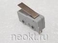 DM1-1 серый (микропереключатель-пластина 16мм) 3A/250V