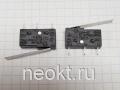 DM1-1 (SM3-02N) (микропереключатель-пластина 25мм, контакты для пайки в плату) 5A/250V