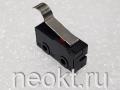 DM1-1 (SM5-04P) (микропереключатель-изогнутая пластина 20мм, контакты для пайки в плату) 5A/250V