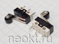 DM3-1 (микропереключатель-пластина 14мм+ролик) 1A/125V