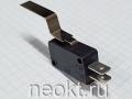 DM5-1 (микропереключатель-изогнутая пластина 40мм) 16A/250V