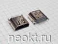 HDMI-19FS розетка вертикальная на плату