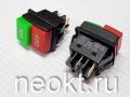 JD03-C1 кнопочный выключатель (красный-зеленый)