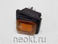 KCD4-25Т/4P жёлтый влагозащищённый выключатель