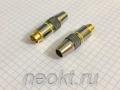 MDN-4M GOLD вилка на кабель