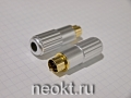 MDN-6M GOLD вилка на кабель