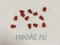 Резиновые фиксаторы для проводов к автомобильным разъемам MFD006-2