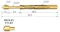 GP-11-E2  Игольчатые пружинные контакты