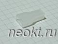 Пластиковая изоляция на клемму 6,3F белая