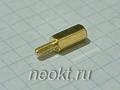 PCHSN2,5-10 mm М2,5, латунь, шестигр.стойка
