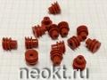 Резиновые фиксаторы для проводов к автомобильным разъемам TE178-015