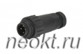 WA22J4TE2-CE-8MM (кабельная вилка)