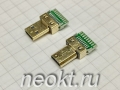 micro HDMI-M19