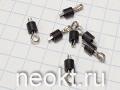 Контакт пробник 262-2214 RS PRO 1.32mm Test Terminal чёрный